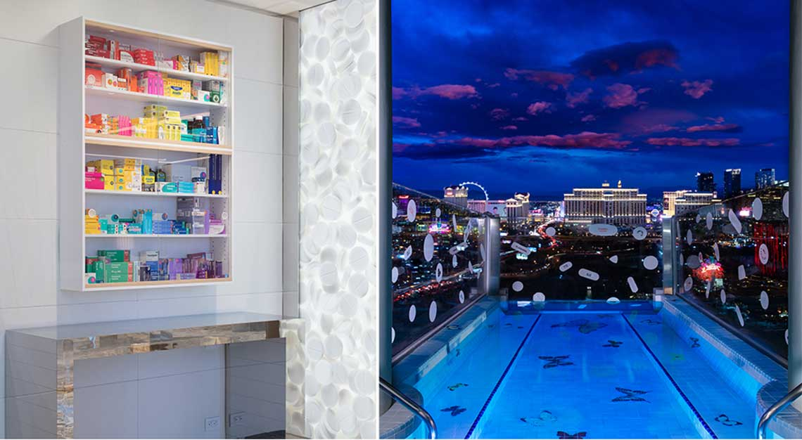 Most Expensive Hotel Suite The Damien Hirst Designed