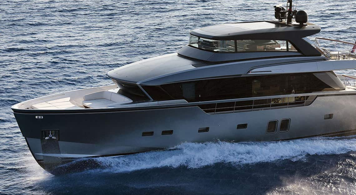 Sanlorenzo X Steve Leung partnership - SX88 yacht