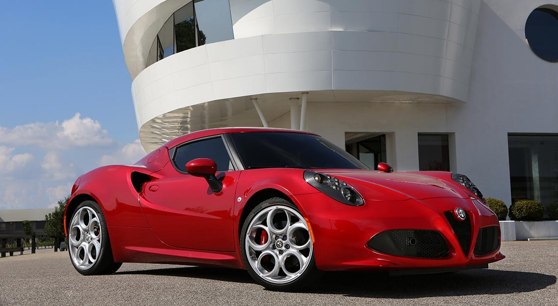 World's Ugliest cars - Alfa Romeo 4C