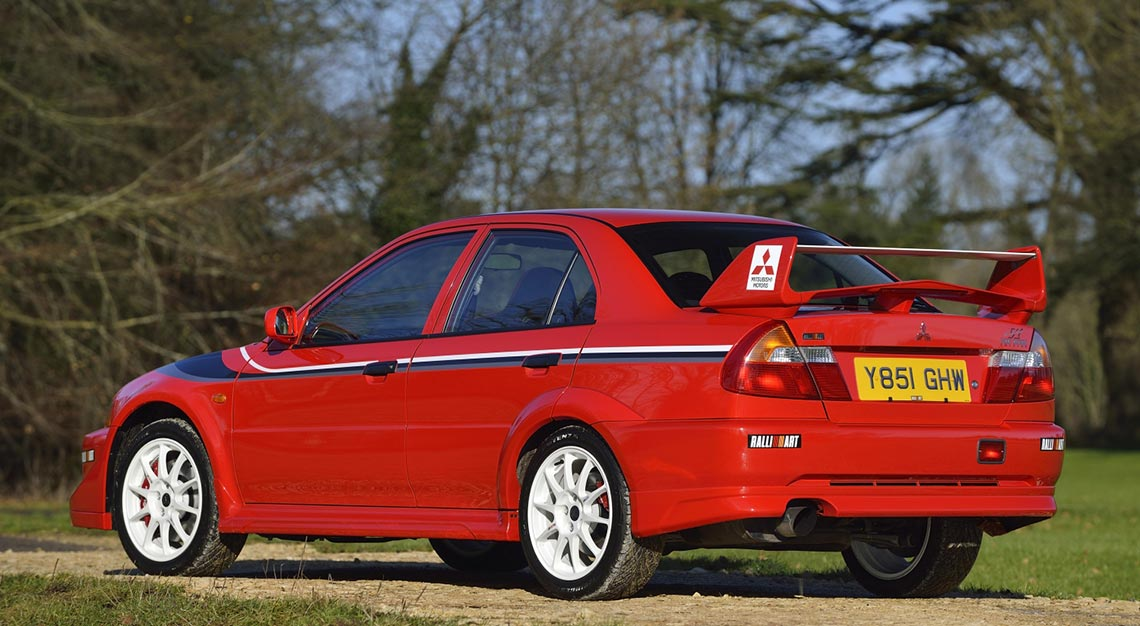 World's Ugliest cars - Mitsubishi Lancer Evolution VI TME