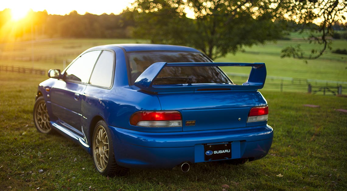 World's Ugliest cars - Subaru Impreza 22B STI