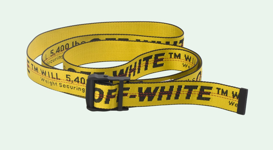Crazy fashion trends - Off-White Logo Belt