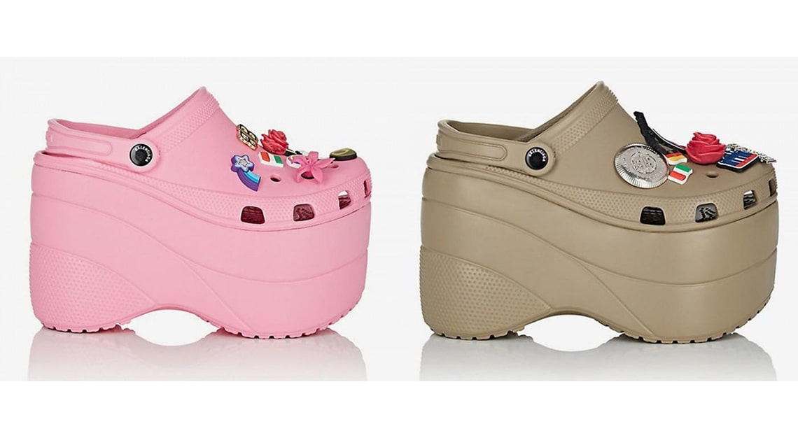 Crazy fashion trends - Balenciaga Crocs