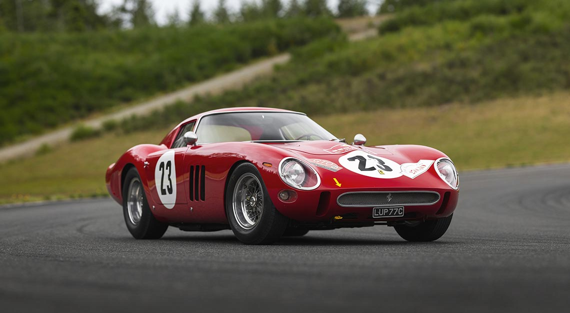 World's most expensive car at auction - Ferrari 250 GTO