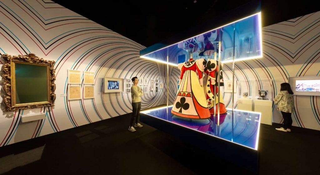 Wonderland Exhibition - Marina Bay Sands