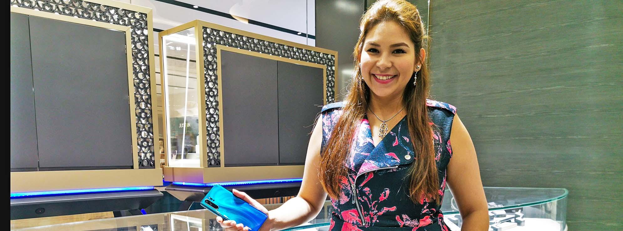 Huawei x Jessica Nasr - Huawei P30 Pro
