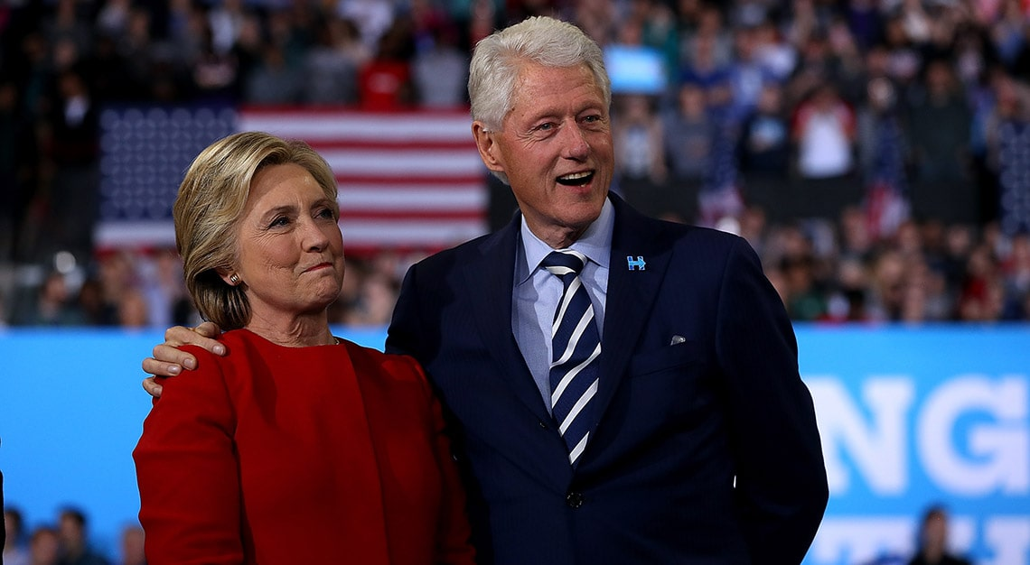 Hillary and Clinton review