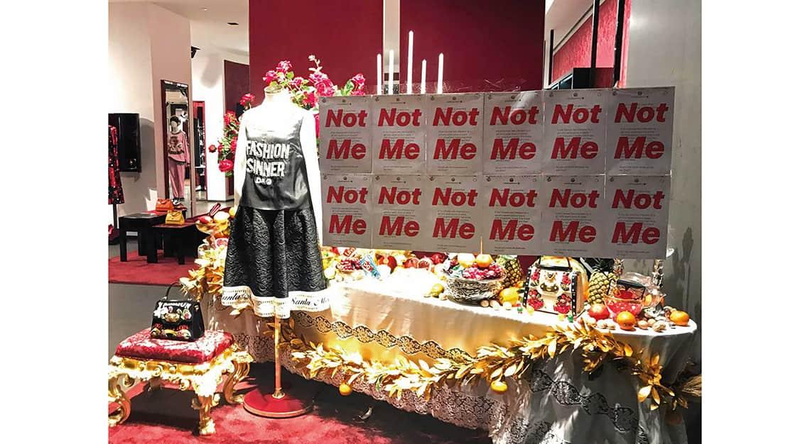 Woke Fashion - Dolce & Gabbana