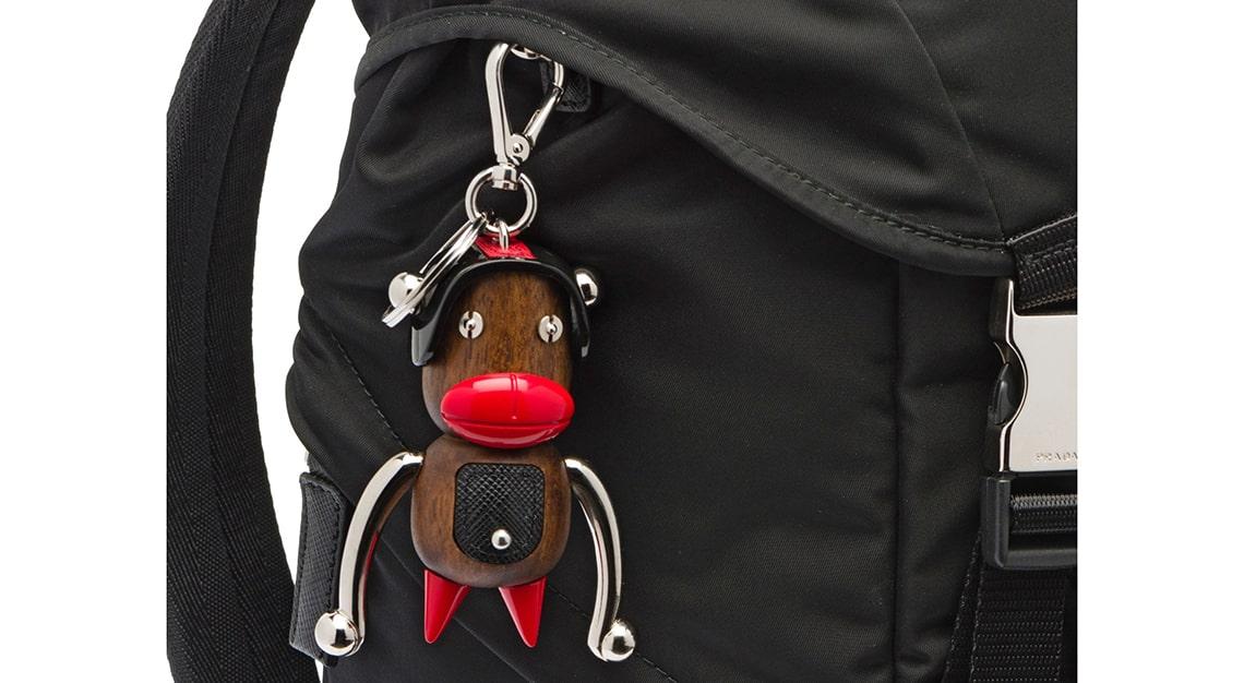 Woke Fashion - Prada Otto Toto keychain