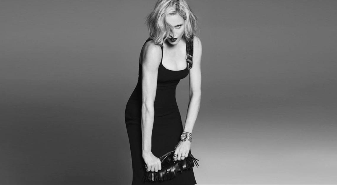 Fashion collaborations - Madonna x Versace