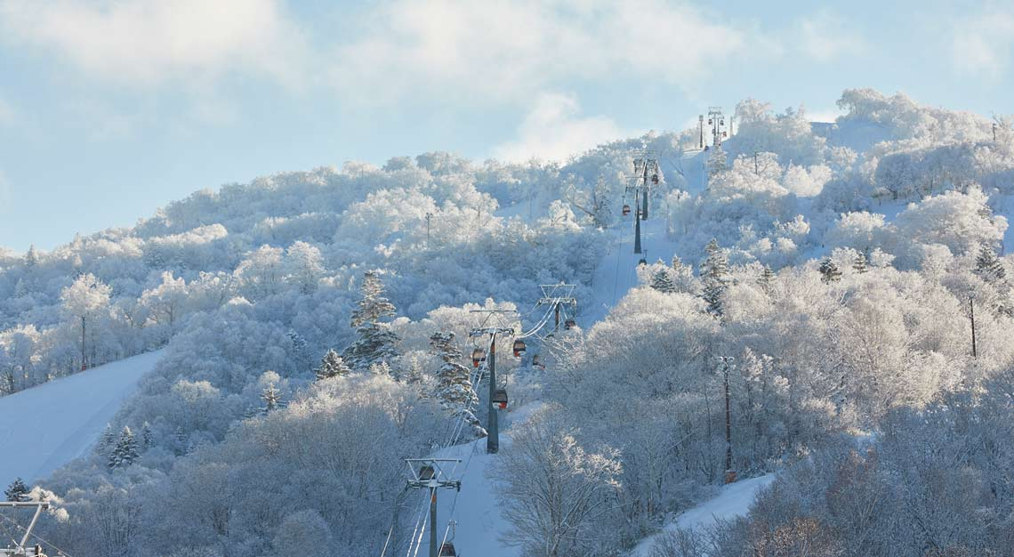 Skiing in Japan - Kiroro Resort