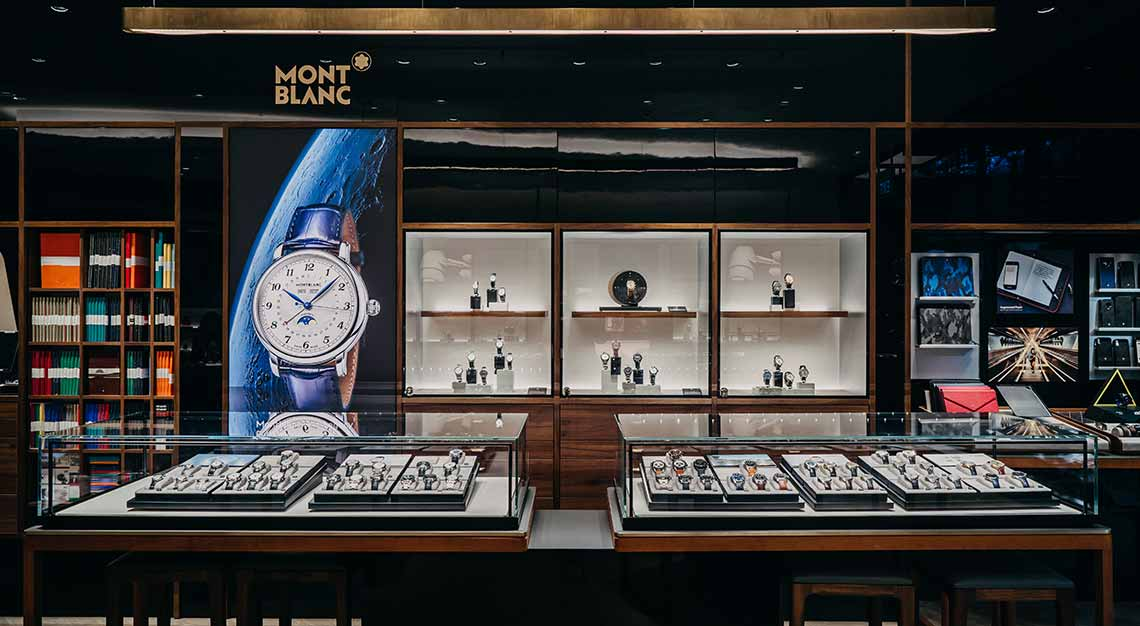 Montblanc, The Shoppes at Marina Bay Sands