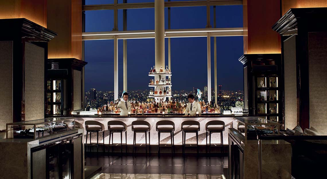 Most expensive martini in the world - Ritz-Carlton, Tokyo