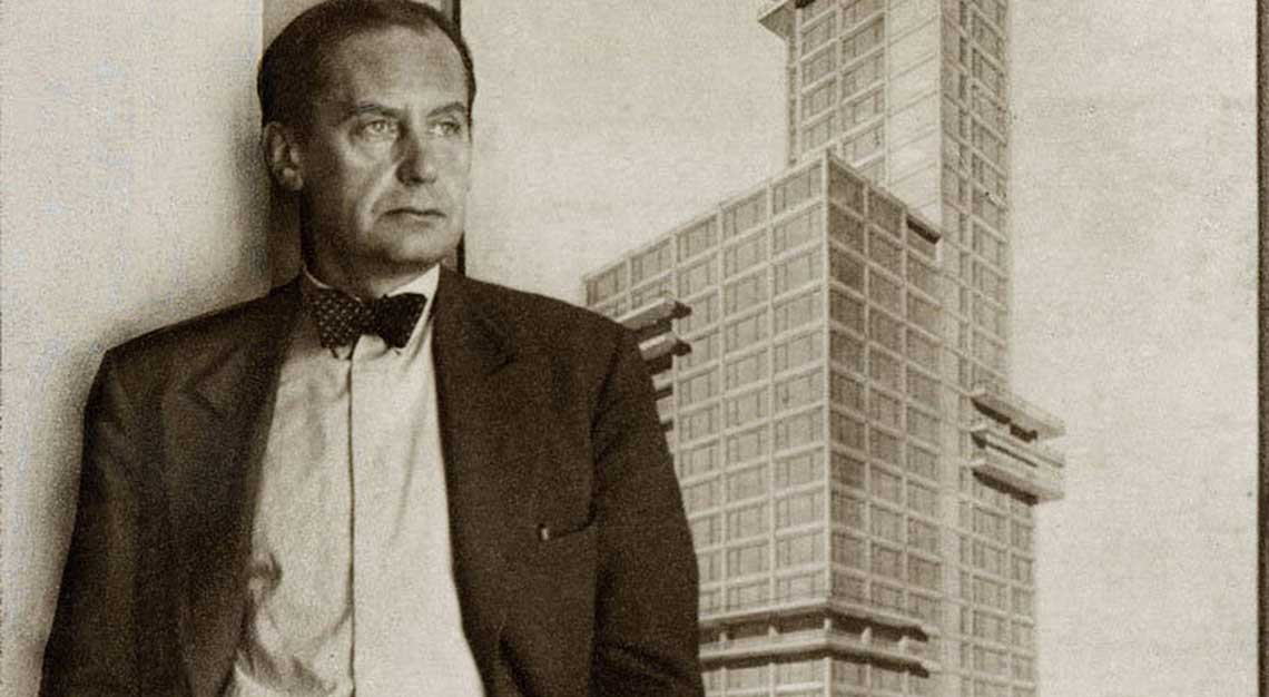 Walter Gropius, founder of Bauhaus
