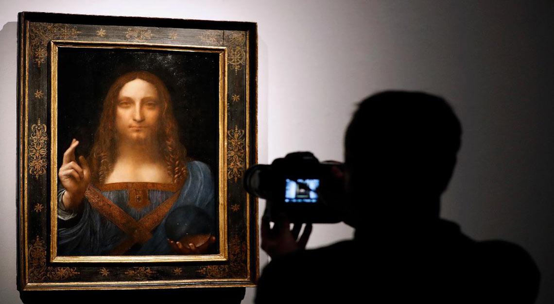 Salvatore Mundi, Leonardo da Vinci
