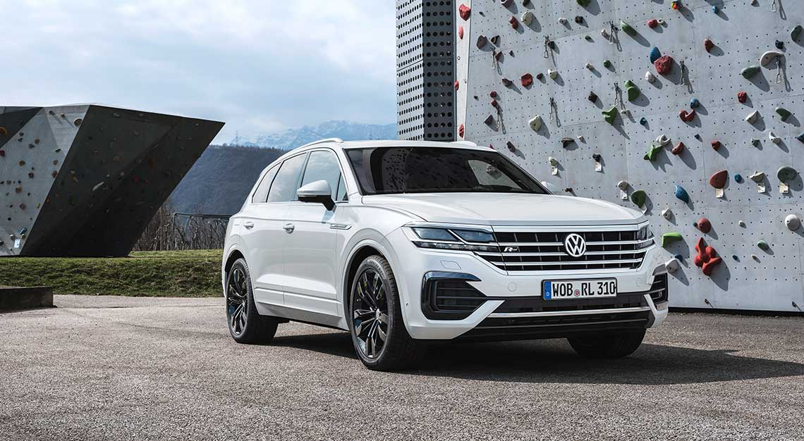 Volkswagen Touareg, flash rides friday