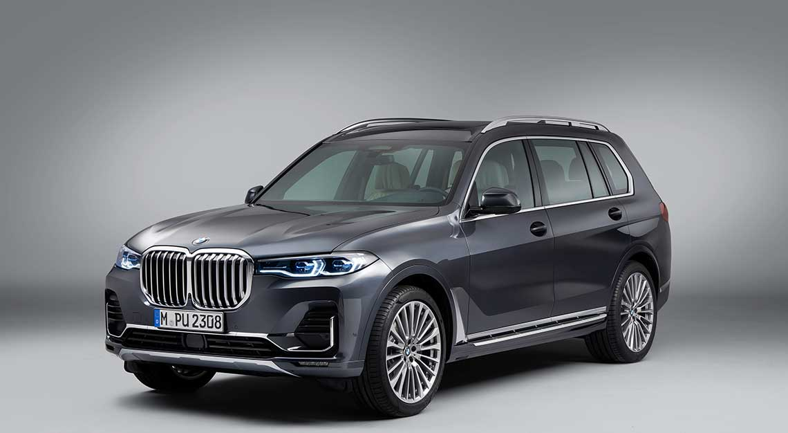 BMW X7, flash rides friday