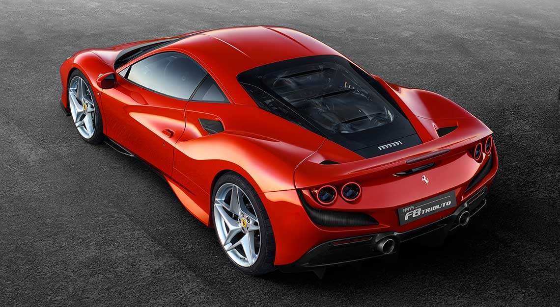 Best sports cars of 2019 - Ferrari F8 Tributo