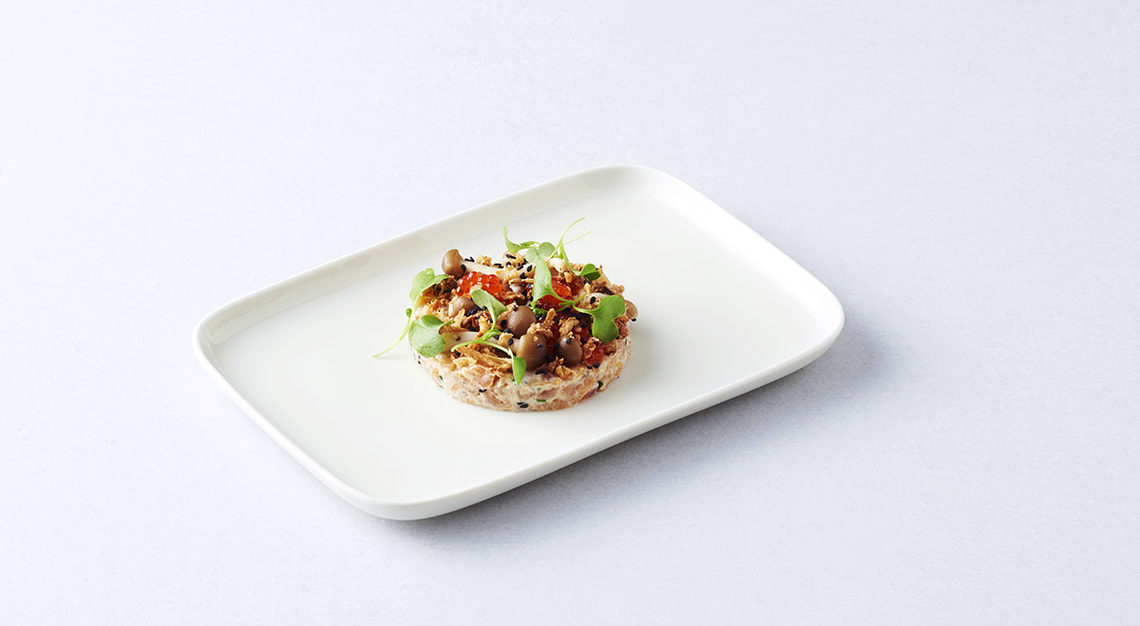 Finnair Salmon Tartar