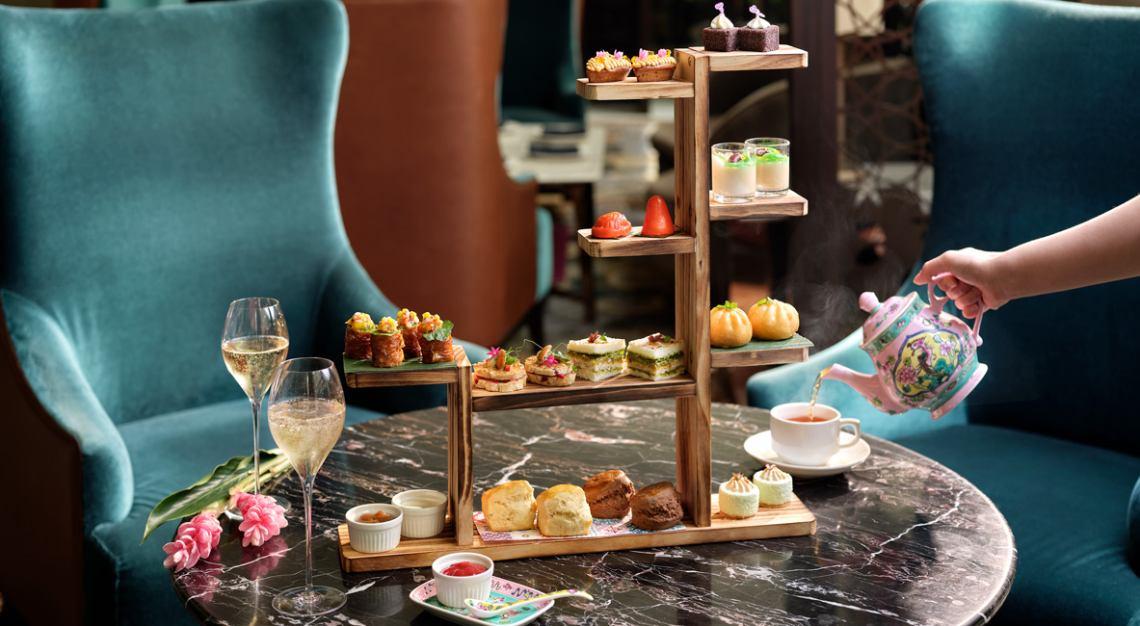 the lobby lounge afternoon tea