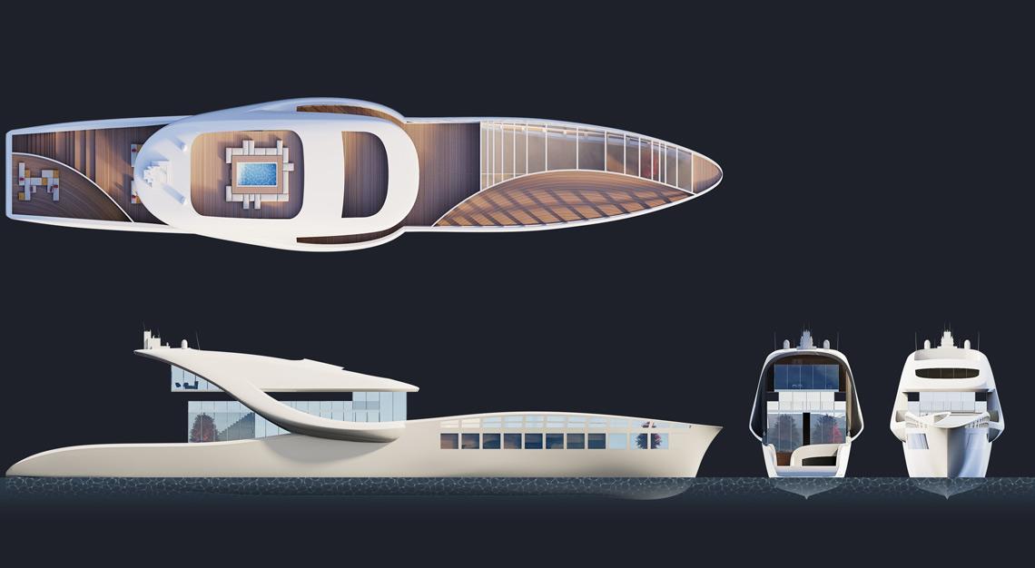 Hop, Iddess Yachts' concept