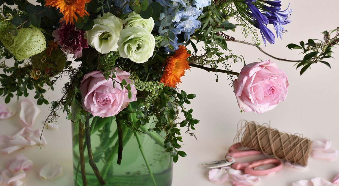 Charlotte Puxley, florists in Singapore