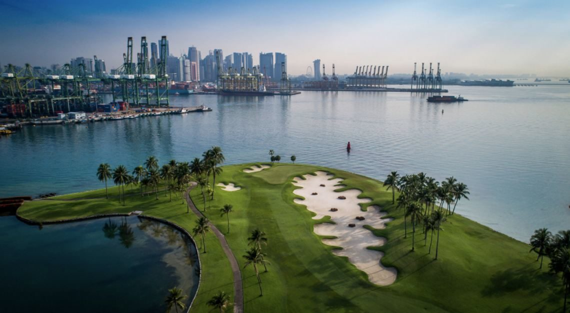 sentosa golf, asia's best golf resorts