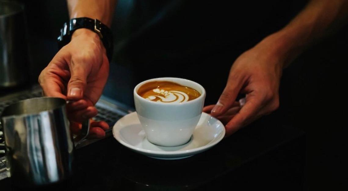 Columbus Coffee Co. coffee preparation
