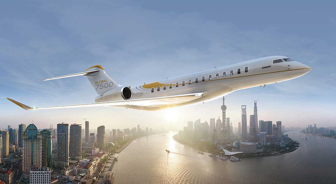 Bombardier Global 7500