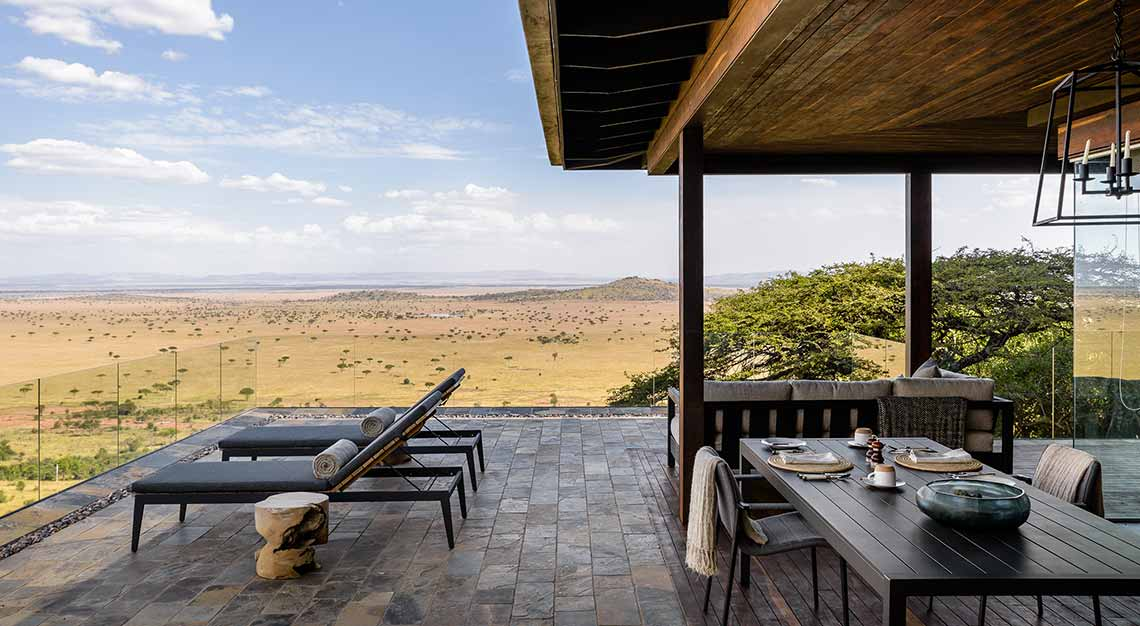 Hillside Suite, Singita Sasakwa Lodge, Tanzania