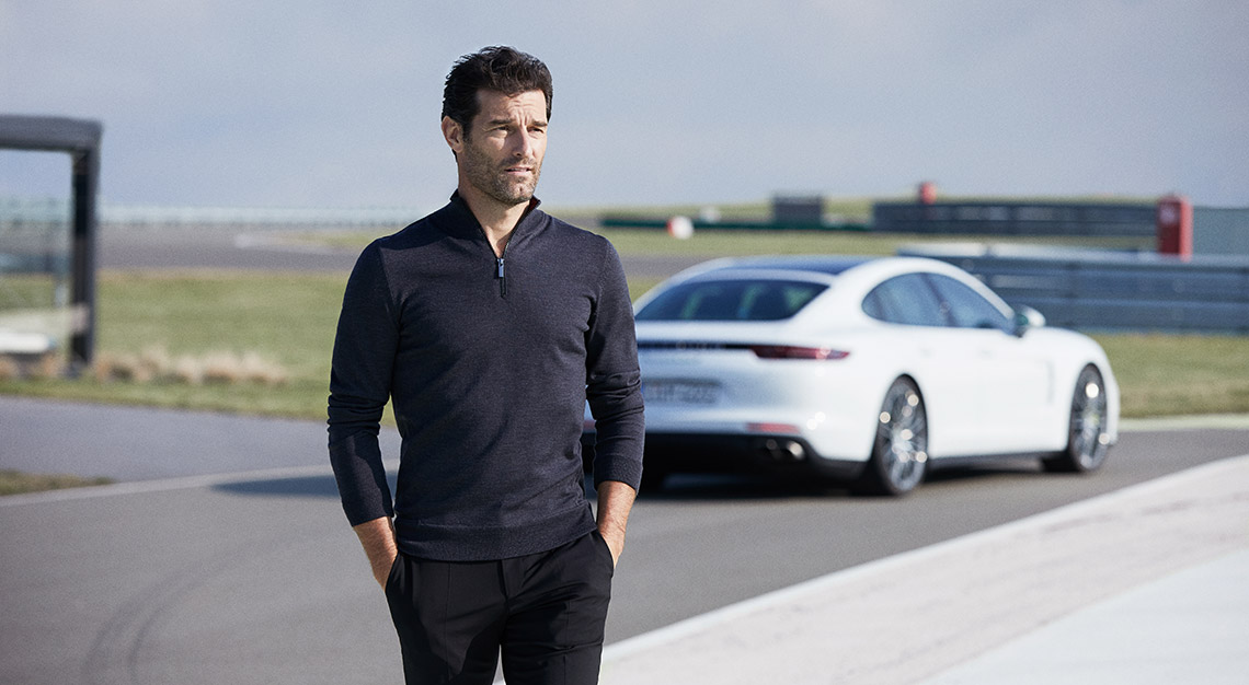 Mark Webber, Porsche X Boss Fall 19 capsule collection