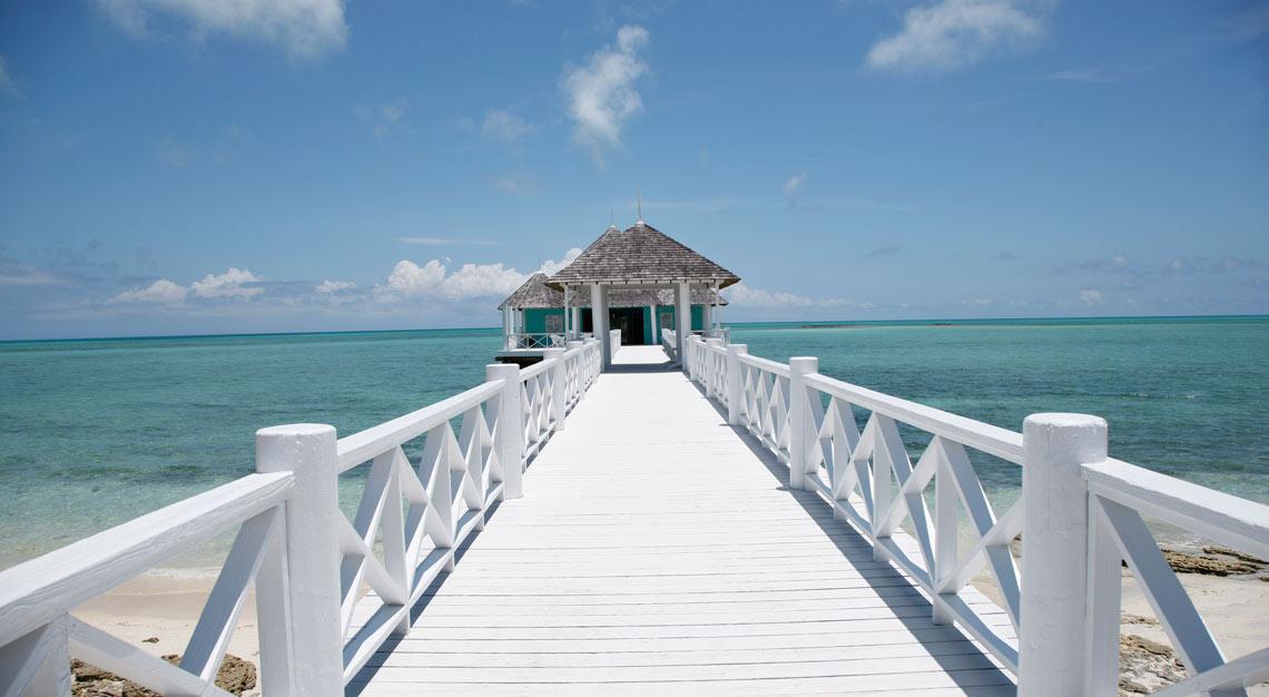 Kamalame Cay, private island