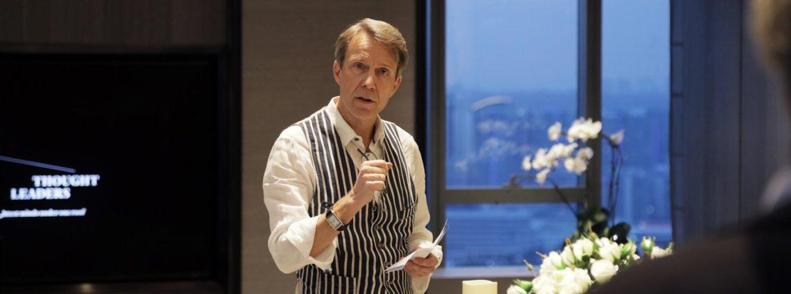 Michael von Schlippe, publisher of Robb Report Singapore, luxury lifestyle magazine in Singapore