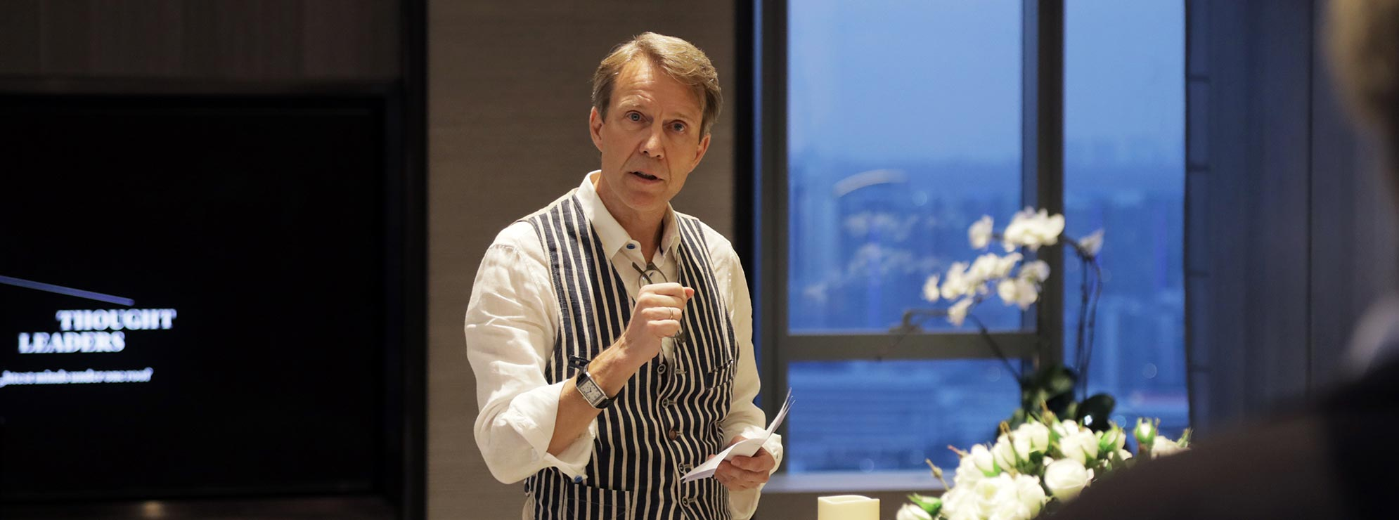 Michael von Schlippe, publisher of Robb Report Singapore, luxury lifestyle magazine in Singapore