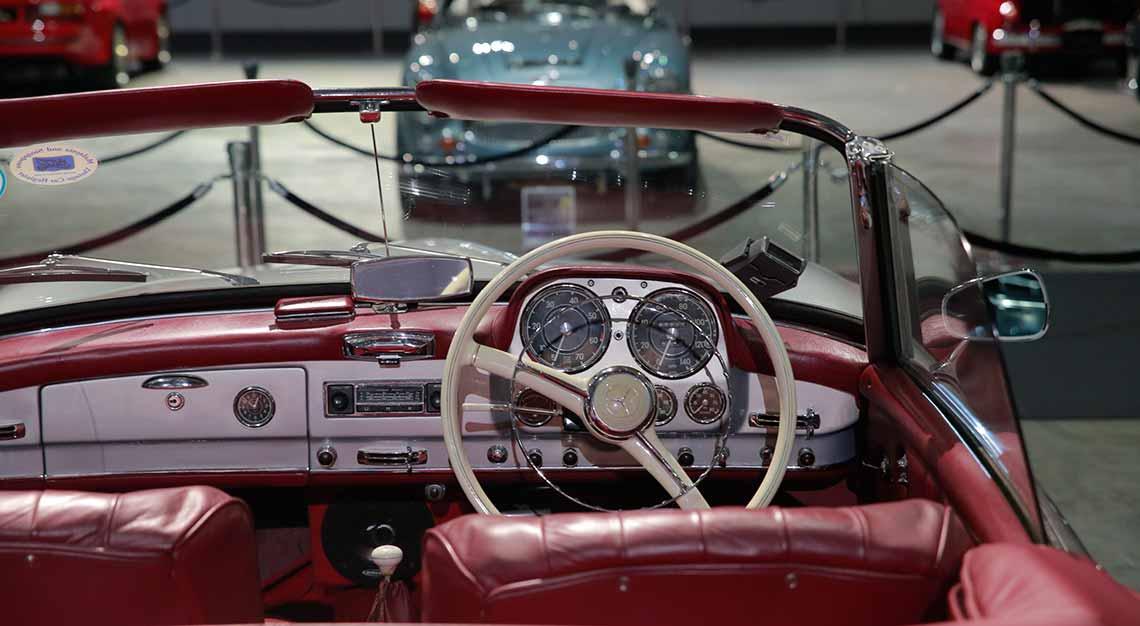 Classic Car Showcase in Singapore