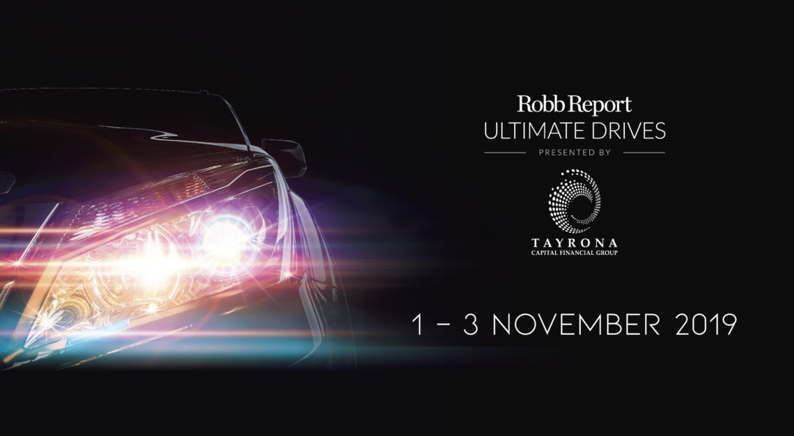 Robb Report Ultimate Drives 2019