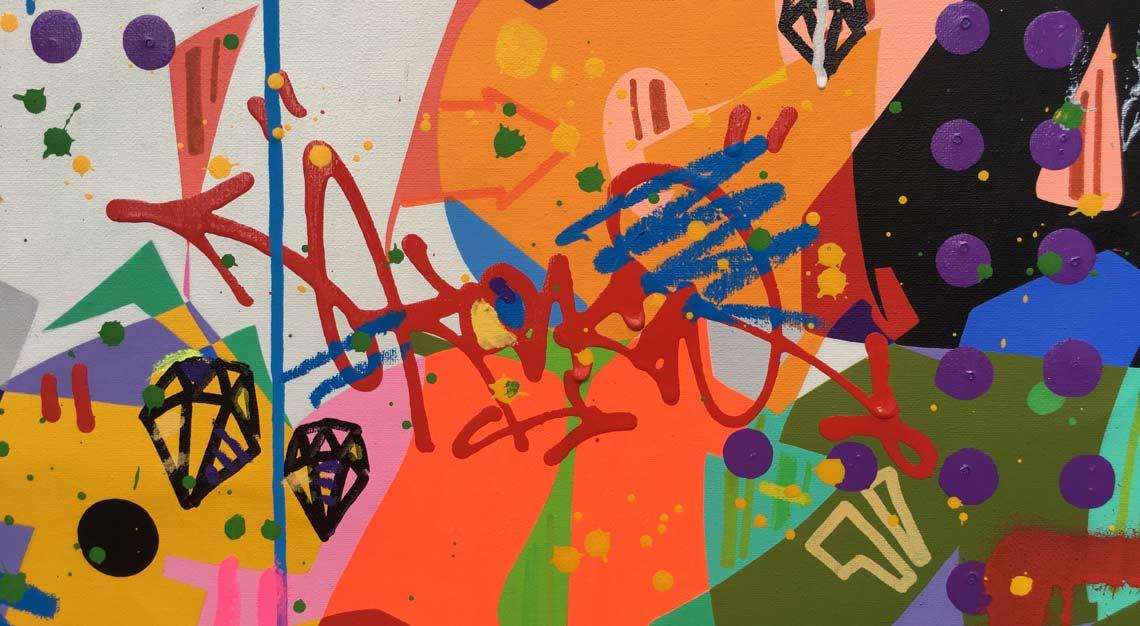 Les Ephémères, Cyril Kong, French graffiti art