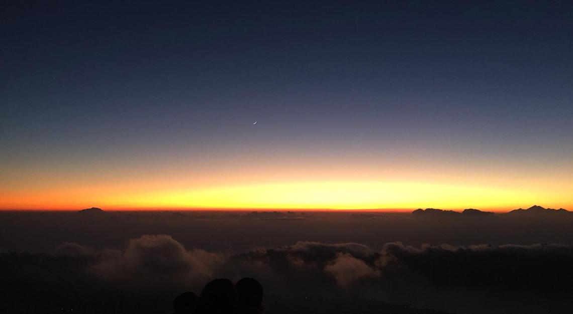 Ubud sunrise, Bali