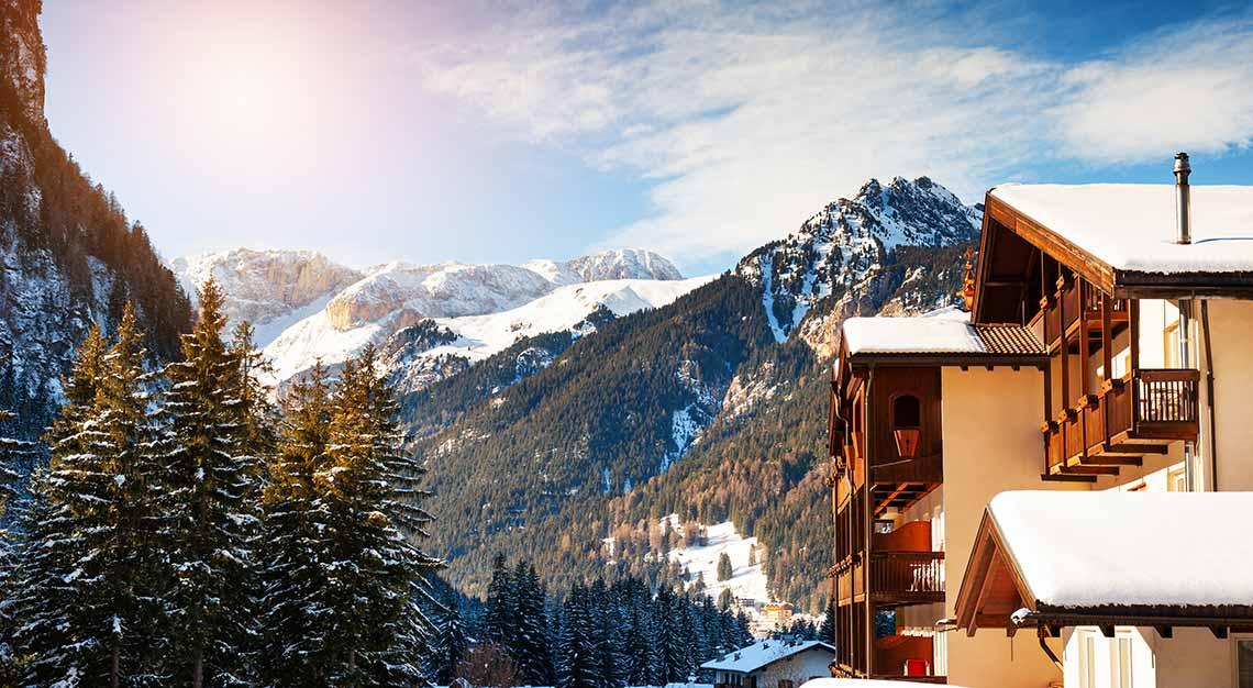 Dolomites Ski Region