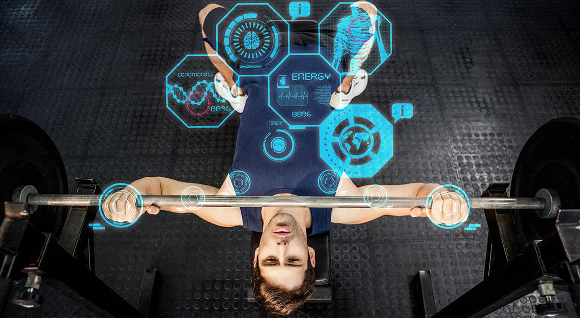 Tech-led gyms