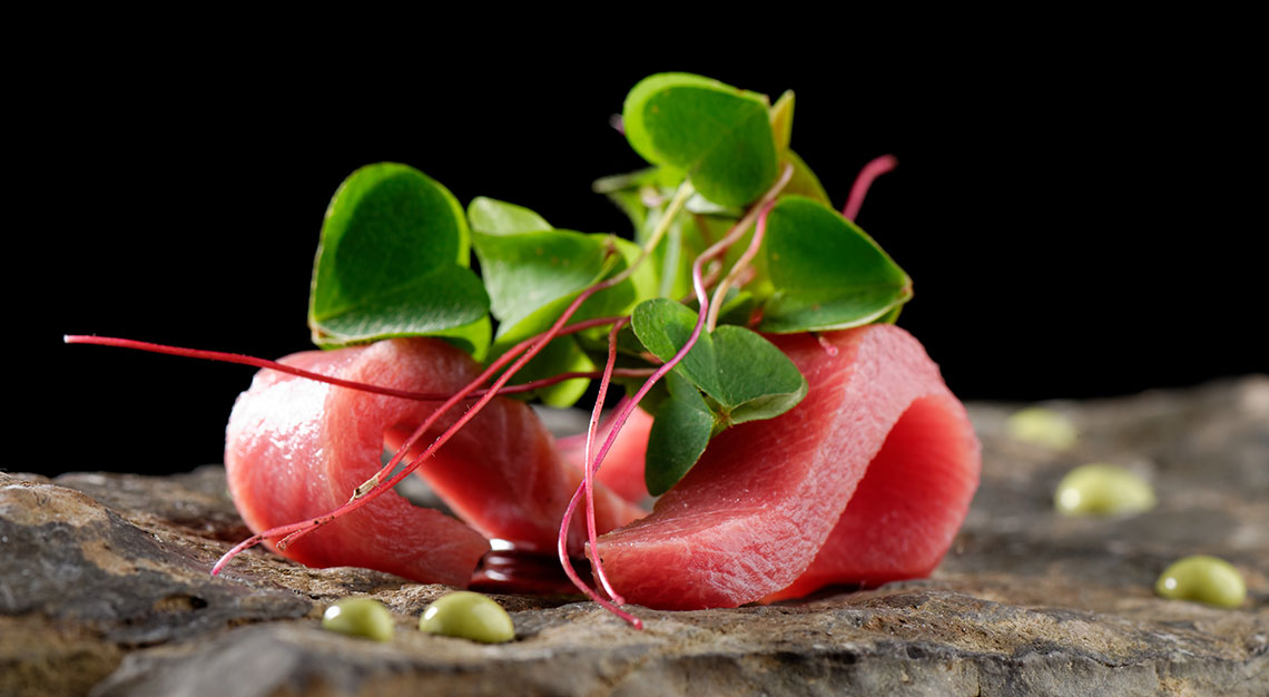 Bluefine tuna