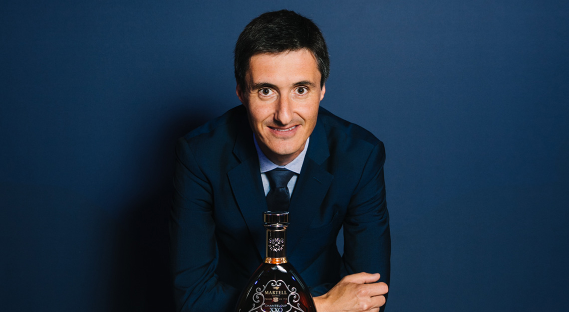 Martell's Cellar Master, Christophe Valtaud