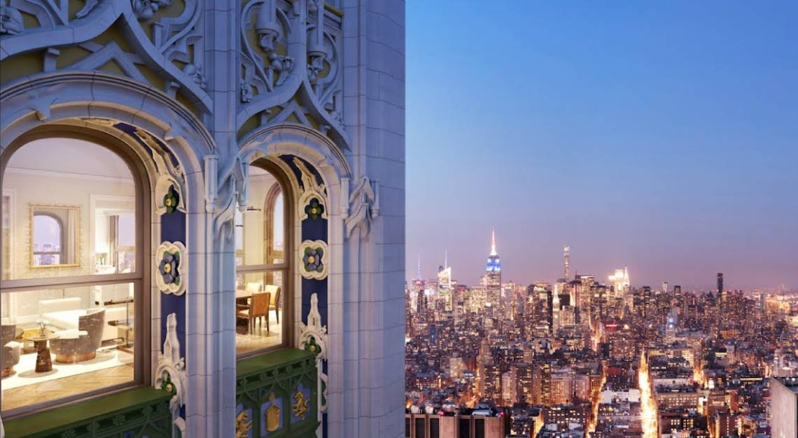 The Pinnacle, Woolworth Tower, New York