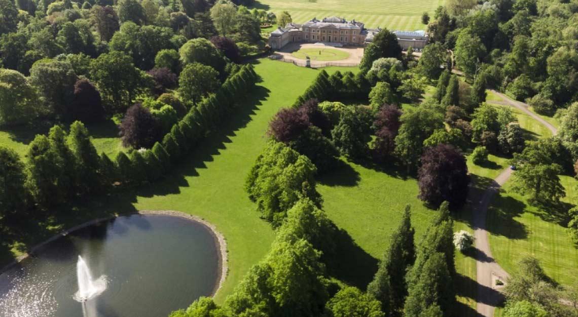 Hackwood Park, Hampshire, England