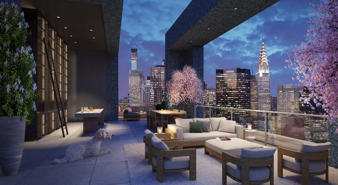 Le Penthouse, New York,