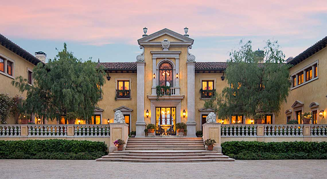 Villa Firenze, California,