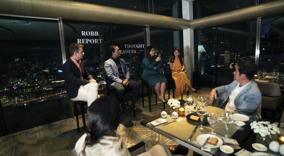 robb report sustainability event