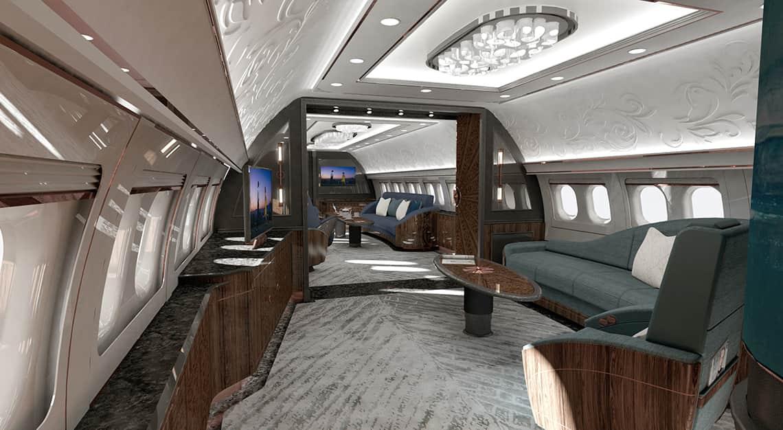 Aeria Luxury Interiors, ST Engineering's VIP