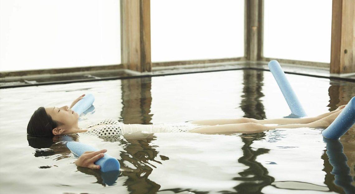 meditation bath at hoshinoya karuizawa