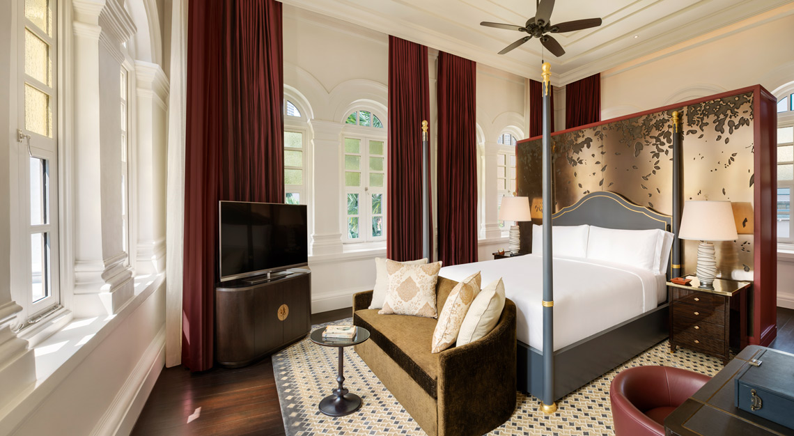 presidential suite at raffles hotel